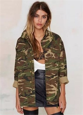 Army Trench Coat